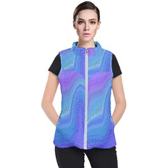 Marble Shades Elephant Texture Women s Puffer Vest