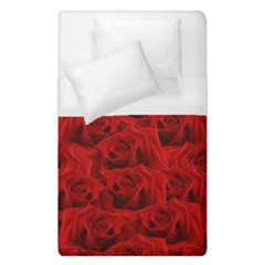 Romantic Red Rose Duvet Cover (single Size) by LoolyElzayat