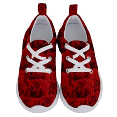 Romantic Red Rose Running Shoes by LoolyElzayat