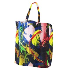 Global Warming 2 Giant Grocery Zipper Tote by bestdesignintheworld