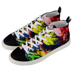 Global Warming 2 Men s Mid Top Canvas Sneakers by bestdesignintheworld