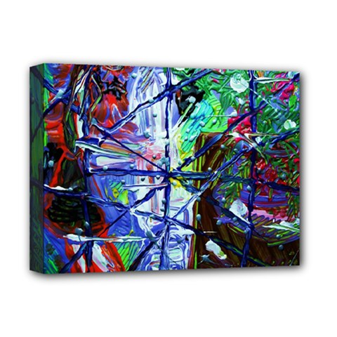 Depression 7 Deluxe Canvas 16  X 12   by bestdesignintheworld