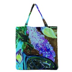 Lilac And Lillies 1 Grocery Tote Bag