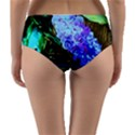 Lilac And Lillies 1 Reversible Mid-Waist Bikini Bottoms View2