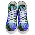 Lilac And Lillies 1 Women s Hi-Top Skate Sneakers View1