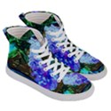 Lilac And Lillies 1 Women s Hi-Top Skate Sneakers View3