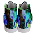 Lilac And Lillies 1 Women s Hi-Top Skate Sneakers View4
