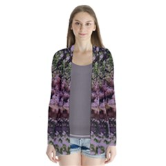 Hot Day In Dallas 31 Drape Collar Cardigan