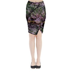 Hot Day In Dallas 31 Midi Wrap Pencil Skirt