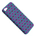 Pink Green Turquoise Swirl Pattern Apple iPhone 5 Hardshell Case View5