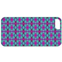 Pink Green Turquoise Swirl Pattern Apple iPhone 5 Classic Hardshell Case View1