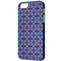 Pink Green Turquoise Swirl Pattern Apple iPhone 5 Classic Hardshell Case View3