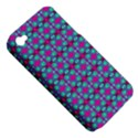 Pink Green Turquoise Swirl Pattern Apple iPhone 4/4S Hardshell Case (PC+Silicone) View5
