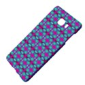 Pink Green Turquoise Swirl Pattern Samsung C9 Pro Hardshell Case  View4
