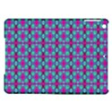 Pink Green Turquoise Swirl Pattern iPad Air Hardshell Cases View1