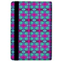 Pink Green Turquoise Swirl Pattern Apple iPad Pro 9.7   Flip Case View4