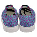 Pink Green Turquoise Swirl Pattern Women s Classic Low Top Sneakers View4