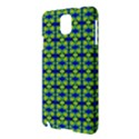 Blue Yellow Green Swirl Pattern Samsung Galaxy Note 3 N9005 Hardshell Case View3