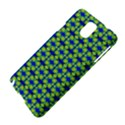 Blue Yellow Green Swirl Pattern Samsung Galaxy Note 3 N9005 Hardshell Case View4
