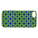 Blue Yellow Green Swirl Pattern Apple iPhone 5S/ SE Hardshell Case View1