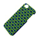 Blue Yellow Green Swirl Pattern Apple iPhone 5S/ SE Hardshell Case View4