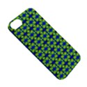 Blue Yellow Green Swirl Pattern Apple iPhone 5S/ SE Hardshell Case View5
