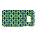 Blue Yellow Green Swirl Pattern Samsung Galaxy S7 Hardshell Case  View1