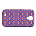 Blue Orange Yellow Swirl Pattern Samsung Galaxy S4 Classic Hardshell Case (PC+Silicone) View1
