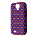 Blue Orange Yellow Swirl Pattern Samsung Galaxy S4 Classic Hardshell Case (PC+Silicone) View3