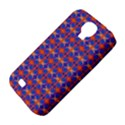 Blue Orange Yellow Swirl Pattern Samsung Galaxy S4 Classic Hardshell Case (PC+Silicone) View4