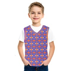 Blue Orange Yellow Swirl Pattern Kids  Sportswear