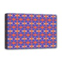 Blue Orange Yellow Swirl Pattern Deluxe Canvas 18  x 12   View1