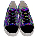 Geometric Men s Low Top Canvas Sneakers View1