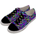 Geometric Men s Low Top Canvas Sneakers View2