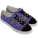 Geometric Men s Low Top Canvas Sneakers View3
