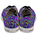 Geometric Men s Low Top Canvas Sneakers View4