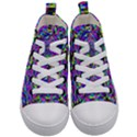 Geometric Kid s Mid-Top Canvas Sneakers View1