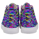 Geometric Kid s Mid-Top Canvas Sneakers View4