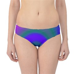 Swirl Green Blue Abstract Hipster Bikini Bottoms by BrightVibesDesign