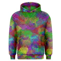 Colorful Patern Art Rainbow Men s Overhead Hoodie