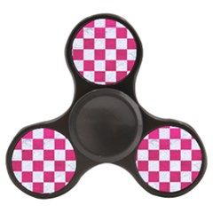 Square1 White Marble & Pink Leather Finger Spinner by trendistuff