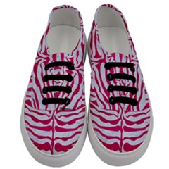 Skin2 White Marble & Pink Leather (r) Men s Classic Low Top Sneakers