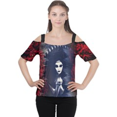 Ghost Gear   Morrigan Lilly   Cutout Shoulder Tee by GhostGear