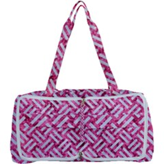Woven2 White Marble & Pink Marble Multi Function Bag
