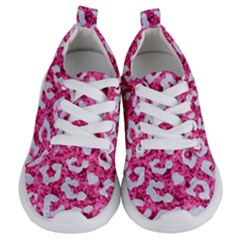 Skin5 White Marble & Pink Marble (r) Kids  Lightweight Sports Shoes