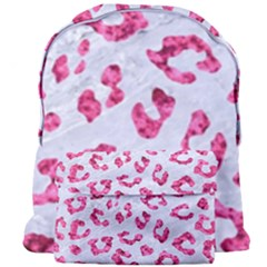 Skin5 White Marble & Pink Marble Giant Full Print Backpack by trendistuff