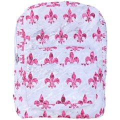 Royal1 White Marble & Pink Marble Full Print Backpack by trendistuff