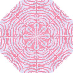 Skin2 White Marble & Pink Watercolor (r) Hook Handle Umbrellas (large)