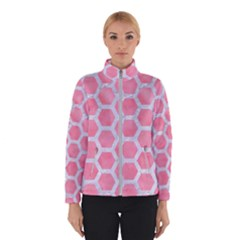 HEXAGON2 WHITE MARBLE & PINK WATERCOLOR Winterwear
