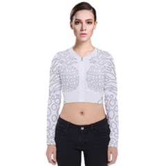 Pinapplesilvergray Bomber Jacket